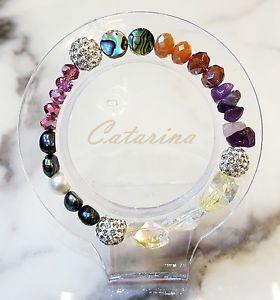 【送料無料】ブレスレット アクセサリ― ハンドメイドブレスレットガラス handmade women jewerly lovely stering bracelet natural gemstone amp; glass 10