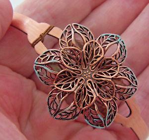 【送料無料】ブレスレット アクセサリ― ブレスレットcb 060copper bracelet wheeler manufacturing flower healing arthritis folklore cb 060