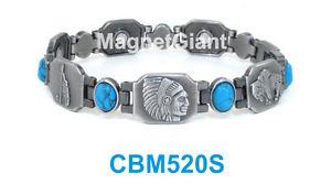【送料無料】ブレスレット アクセサリ― メッキリンクパワーmen or women antique silver plating link high power magnetic bracelet