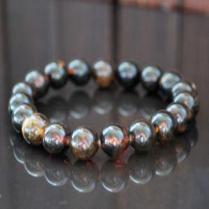 【送料無料】ブレスレット アクセサリ― バルトビーズブレスレットbaltic amber beads bracelet 14 gr genuine dark womans jewelry