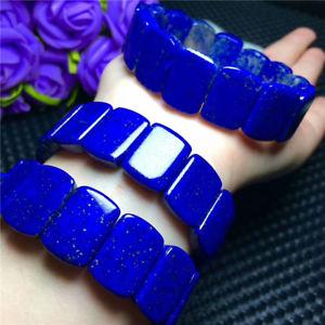 【送料無料】ブレスレット アクセサリ― 1817mmブレスレットaaaa1817mm natural royal blue lapis lazuli gemstone rectangle beads bracelet aaaa