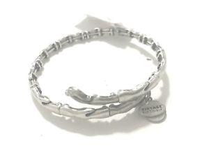 【送料無料】ブレスレット アクセサリ― アレックスメタルラップラファエリアンシルバーブレスレットタグalex and ani water metal wrap rafaelian silver finish bracelet with tag
