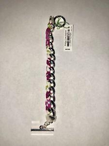 【送料無料】ブレスレット アクセサリ― ベラブラッドリーチェーンブレスレットチューリップnwt vera bradley braided chain bracelet julep tulip very pretty