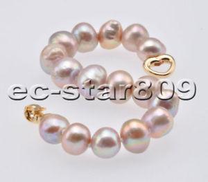 【送料無料】ブレスレット アクセサリ― ラベンダーラウンドエジソンパールブレスレットp6879 8 12mm lavender round edison keshi pearl bracelet