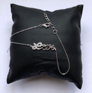 【送料無料】ブレスレット アクセサリ― シルバーホワイトゴールドメッキラブブレスレット listingsterling silver white gold plated love bracelet