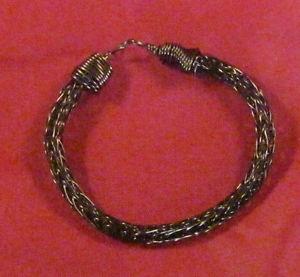 【送料無料】ブレスレット アクセサリ― ビンテージブロンズバイキングニットブレスレット#vintage bronze viking knit bracelet 8 255