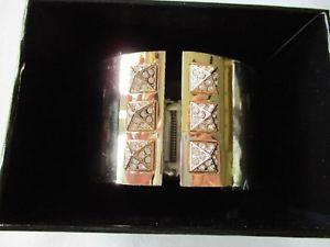 【送料無料】ブレスレット アクセサリ― victorias secretゴールドカフスブレスレットvictorias secret gold scandalous hinged cuff bracelet