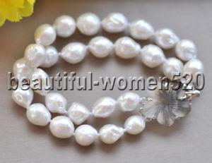 【送料無料】ブレスレット アクセサリ― ラウンドホワイトエジソンパールブレスレットインチz8951 2strds 12mm almost round white edison pearl bracelet 8inch