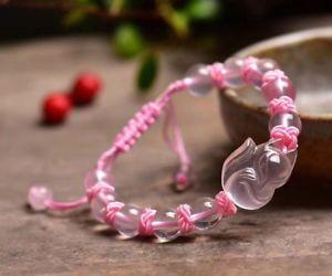 【送料無料】ブレスレット アクセサリ― スターローズクォーツライトクリスタルクリアビーズストレッチブレスレットnatural star rose quartz light crystal clear beads stretch bracelet 10mm