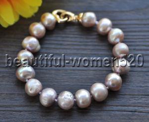 【送料無料】ブレスレット アクセサリ― ラベンダーラウンドエジソンパールブレスレットインチz8980 12mm lavender round edison keshi pearl bracelet 8inch