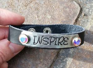 【送料無料】ブレスレット アクセサリ― レザーラップブレスレットインスピレーションinspire leather wrap bracelet