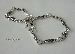 【送料無料】ブレスレット アクセサリ― スターリングシルバーデザイナーブレスレットインチグラム925 sterling silver designer bracelet 8 inches, 51mm width, 77 grams