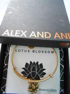 【送料無料】ブレスレット アクセサリ― アレックスブレスレットラファエリアンゴールドalex and ani woman and infants lotus blossom bracelet rafaelian gold nwtbc