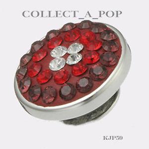 【送料無料】ブレスレット アクセサリ― スターリングシルバーauthentic kameleon sterling silver scarlet sparkle jewelpop kjp059