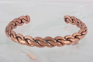 【送料無料】ブレスレット アクセサリ― カフブレスレットファッションcopper braided cuff bracelet fashion 0507b