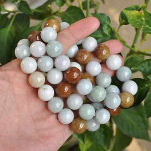 【送料無料】ブレスレット アクセサリ― ライトグリーンエメラルドブレスレット3 certified natural grade a light green tawny emerald jade ~bracelet in