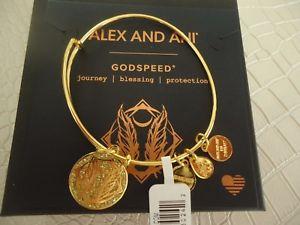 【送料無料】ブレスレット アクセサリ― アレックスカラーゴールドブレスレットタグカードボックスalex and ani godspeed color infusion shiny gold bracelet w tag card amp; box