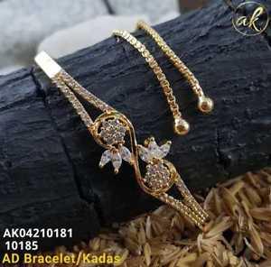 【送料無料】ブレスレット アクセサリ― イエローゴールドメッキブレスレットhigh quality ad stone yellow gold plated wedding bracelet gx67119