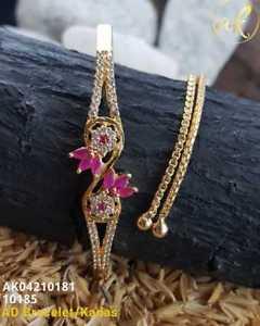 【送料無料】ブレスレット アクセサリ― イエローゴールドメッキブレスレットhigh quality ad stone yellow gold plated wedding bracelet yb10735