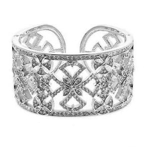 【送料無料】ブレスレット アクセサリ― スザンヌサマーズシルバーマルタカフブレスレットドルsuzanne somers silver tone maltese cross filigree cuff bracelet srp 80 nib
