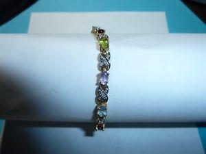 【送料無料】ブレスレット アクセサリ― 925 semilovelyブレスレット925 silver bracelet with semi precious stones lovely