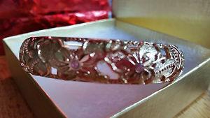 【送料無料】ブレスレット アクセサリ― ハワイブレスレットfloral golden bracelets from hawaii