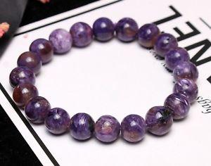 【送料無料】ブレスレット アクセサリ― ビードブレスレット10mm top quality natural purple charoite crystal gemstone beads bracelet aaa