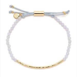 【送料無料】ブレスレット アクセサリ― gorjanaパワーレースexpressioブレスレットgorjana power gemstonesblue lace agate expressio gold plate adjustable bracelet