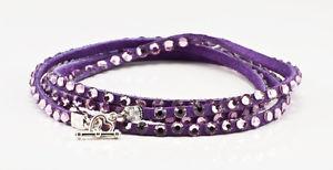 【送料無料】ブレスレット アクセサリ― スワロフスキーピンクブレスレットマルチラップswarovski crystal multi wrap in bracelet in purple wpale pink crystals