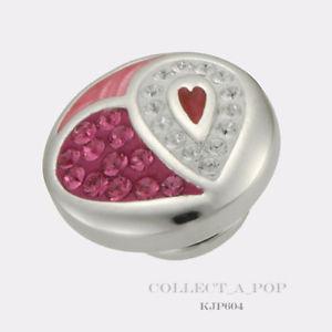 【送料無料】ブレスレット アクセサリ― kameleonスターリングヴァレンタインjewelpop kjp604authentic kameleon sterling silver smitten heart valentines jewelpop kjp604