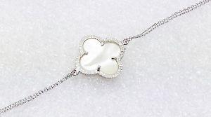 【送料無料】ブレスレット アクセサリ― スターリングシルバーパールファッションジュエリーブレスレットホワイト925 sterling silver bracelet white mother of pearl women fashion jewelry