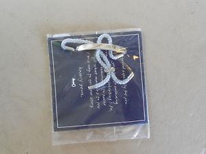 【送料無料】ブレスレット アクセサリ― アジャスタブルブレスレットkeep engraveable adjustable bracelet blessed silver