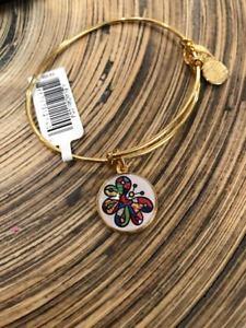 【送料無料】ブレスレット アクセサリ― アレックスブリットバタフライゴールドタグカードボックスalex and ani britto butterfly art infusion shiny gold tag card amp; box nwt
