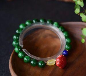 【送料無料】ブレスレット アクセサリ― クリスタルクリアラウンドビーズブレスレットgenuine natural green jade crystal clear round beads dly bracelet aaaa 6mm