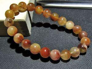 【送料無料】ブレスレット アクセサリ― ゴールデンルチルラウンドビーズブレスレット9mm natural golden rutilated quartz round beads bracelet gift present bl2875