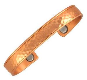 【送料無料】ブレスレット アクセサリ― セルジオカフブレスレットsergio lub magnetic copper cuff bracelet hammered copper small