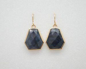 【送料無料】ブレスレット アクセサリ― ブロンズイヤリングbarse jewelry dumortierite and bronze earrings