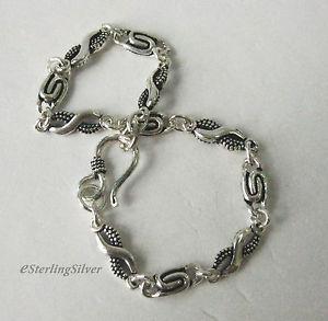 【送料無料】ブレスレット アクセサリ― スターリングシルバーデザイナーブレスレットインチグラム925 sterling silver designer bracelet 8 inches, 53mm width, 113 grams