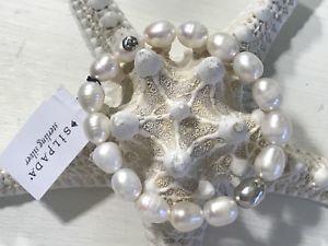 【送料無料】ブレスレット アクセサリ― パールスターリングシルバーストレッチブレスレット silpada *shine on* b2894 pearlsterling silver stretch bracelet