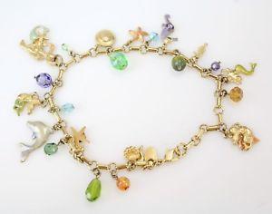 【送料無料】ブレスレット アクセサリ― テーマエナメルブレスレットkirks folly nautical mermaid animal themed goldden enamel charm anklet bracelet