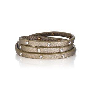 【送料無料】ブレスレット アクセサリ― クリスタルブレスレットcrystal studded multiwrap bracelet