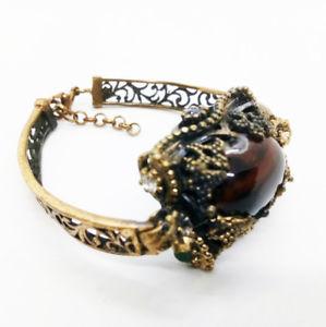【送料無料】ブレスレット アクセサリ― ブレスレットデザインファッションbracelet wrist design stone glaze jewelry carve copper color fashion