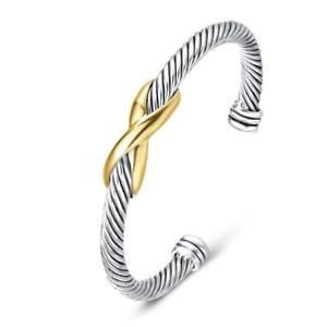 【送料無料】ブレスレット アクセサリ― ユニーブレスレットデザイナーブランドアンティークジュエリークロスケーブルワイヤuny bracelet designer brand inspired antique women jewelry cross cable wire