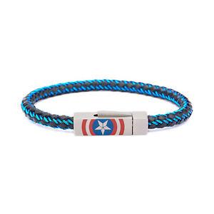 【送料無料】ブレスレット アクセサリ― キャプテンアメリカシールドロゴインチステンレススチールブレスレットmarvel captain america civil war shield logo 825 inch stainless steel bracelet