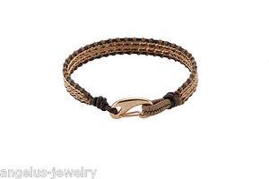 【送料無料】ブレスレット アクセサリ― ブレスレットグラムブラウンalraune, leather bracelet glam , brown, 7 12in, 1 row,