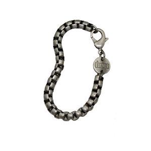 【送料無料】ブレスレット アクセサリ― ボックスチェーンブレスレットmensbrass box chain bracelet