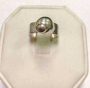 【送料無料】ブレスレット アクセサリ― デザイナースターリングシルバーカタツムリリングサイズdesigner mignon faget sterling silver 925 garden moon snail ring size 5