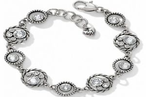 【送料無料】ブレスレット アクセサリ― ブライトンハローサークルシルバーブレスレットタグbrighton halo circle silver bracelet w tag
