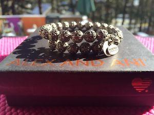 【送料無料】ブレスレット アクセサリ― アレックスビンテージキングストンアポンロシアシルバービーズラップブレスレット alex and ani vintage 66 kingston russian silver beaded wrap bracelet