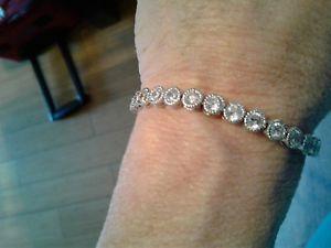 【送料無料】ブレスレット アクセサリ― テニスブレスレットデザインtennis braceletczsfabulous design